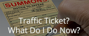 Traffic ticket?